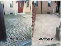 Power washing, Driveway cleaning, Gutter cleaning, Walls, Concrete floors, Mono-blocks, gardening