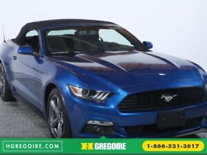 2017 Ford Mustang V6 DÉCAPOTABLE AITO A/C BLUETOOTH