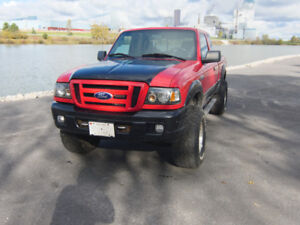 "2007 Ford Ranger Fx4 Level II 3"" Body lift with 33""x12.5 Tires"