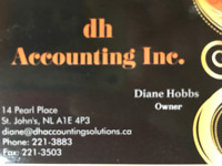 Accounting/bookkeeping services for small companies