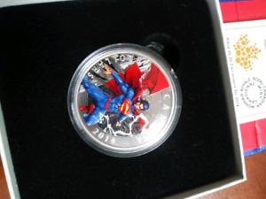 2014  superman coin