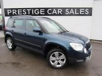 2013 Skoda Yeti 2.0 TDI CR DPF SE 5dr Diesel blue Manual