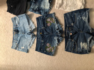 American eagle and blue notes shorts