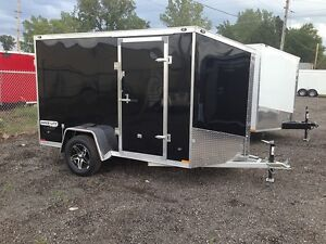 Miska 5'x10' Aluminum Enclosed Trailer