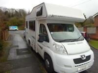 Elddis Autoquest 100 4 Berth 4 Belts End Kitchen Motorhome For Sale Ref 13629