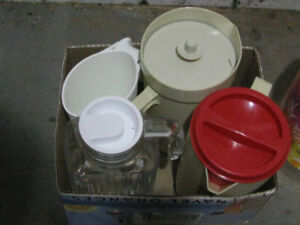 A Collection Of Pitchers and Beverage Containers-6 Pieces