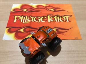 HOT WHEELS MONSTER JAM - Pillage Idiot with Flag - LIKE NEW