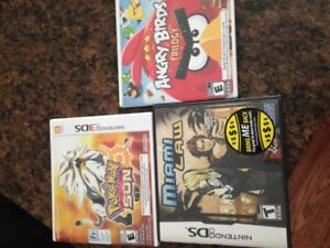 Used Nintendo 3DS and Nintendo DS games