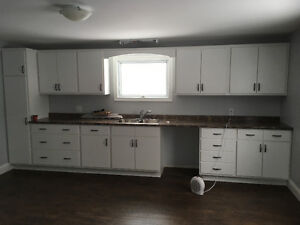 Brand new, never used kitchen cabinets and counter top