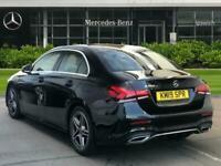 2019 Mercedes-Benz A Class A180d AMG Line Executive 4dr Auto Saloon Diesel Autom