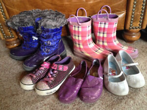 Girl's Shoes/Boots -- Size 13 - 2