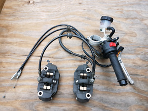 Gsxr 1000 2005 2006 front right controls calipers lines  cables