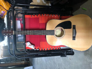 Fender CD-60 Acoustic guitar - three months old
