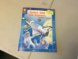 Space and Planets Activity Book  (NEW)