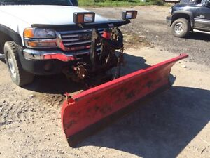 2004 gmc 1500with western plow
