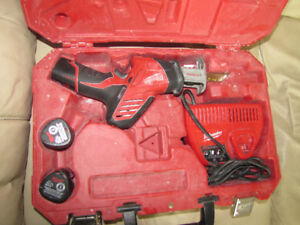 Milwaukee charger and batteries only