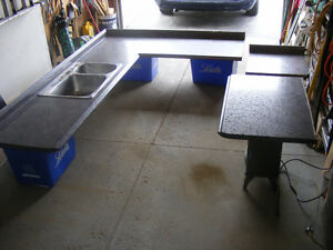 Laminate Counter Tops & sink