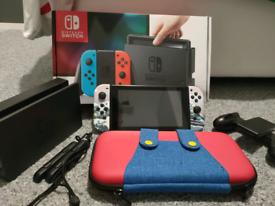 Nintendo switch bundle (can run homebrew)