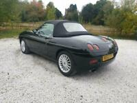 2003 53 FIAT BARCHETTA 1.8 16V 2D CABRIOLET LHD FSH CAMBELTED 2 OWNERS PX SWAPS