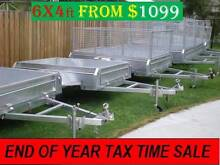 6×4 Box Trailer Galvanized NEW Year on the spot deals $$$$ Coopers Plains Brisbane South West Preview