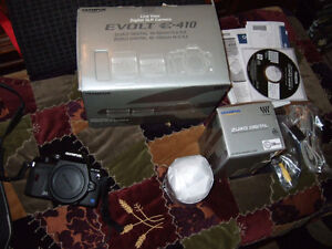 Olympus E-410 Digital SLR with 2 lenses