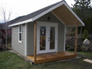 Sheds - baby barns - garages - pool house - bunkie