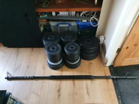 Mixed Weights + Bar