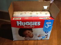 Couche / Diapers Snug & Dry Huggies taille 5