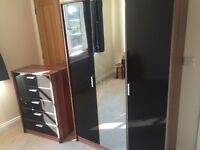 Wardrobe and chest of drawers amazing condition
