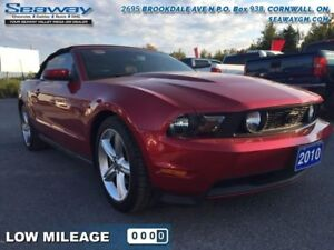 2010 Ford Mustang GT  -  Fog Lamps - $218.74 B/W - Low Mileage