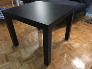 IKEA Lack side table (black)  like new condition