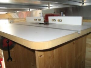 Router table and router moving June 4th must sell