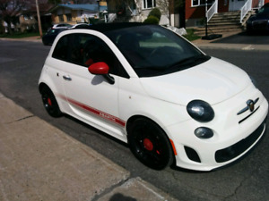 Fiat Abarth 500 2015 cabriolet turbo