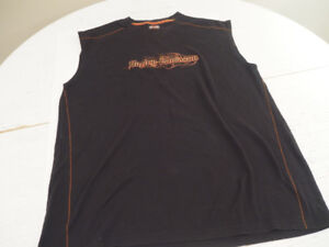 Harley Davidson Men's Sleeveless Cloth Size:L
