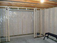 Basement framing - Professional and affordable