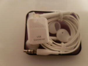 Brand new Samsung ear budds w/cover,connector & case