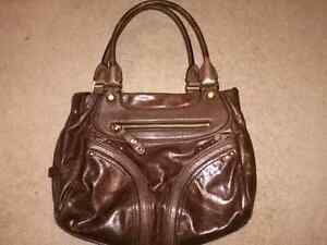 COLE HAAN BROWN LEATHER PURSE!! Kitchener / Waterloo Kitchener Area image 1