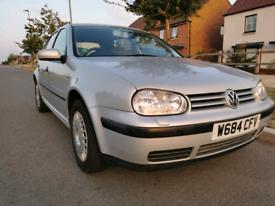 Volkswagen VW Golf 1.9 tdi Diesel 12 months MOT Lots of history
