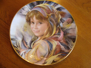 TWO 1983 ROYAL DOULTON Plates Juliana & Gabriella by Francisco M