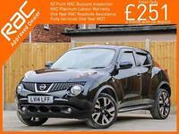 2014 Nissan Juke 1.6 N-Tec Auto Sat Nav Rear Cam Bluetooth Just 1 Private Owner