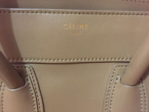 CELINE MINI LUGGAGE IN TAUPE LIKE NEW CONDITION 100% AUTHENTIC