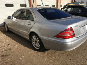 2003 MERCEDES S430  FOR PARTS ONLY