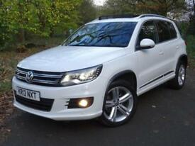 2013 Volkswagen Tiguan 2.0TDI 140ps 4Motion BlueMotion Tech DSG R Line..PAN ROOF