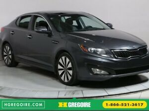 2011 Kia Optima TURBO SX CUIR TOIT NAV BLUETOOTH CAMERA RECUL