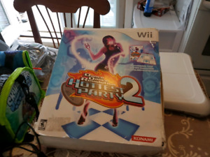 Wii console with games and more