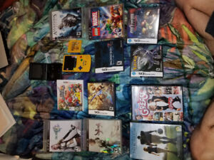Assorted games and movies - Final Fantasy, Lego marvel GB Colour
