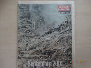 Cahier Souvenir Septembre 2001 World Trade Center