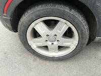 """17"""" Winter tire & mag package for Mini Cooper / BMW"""