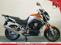 Yamaha BT1100 Bulldog 2005 Orange and Grey - Datatool Alarm, Heated Grips