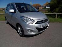 2013 13 HYUNDAI I10 1.2 ACTIVE 5DR AUTOMATIC SILVER